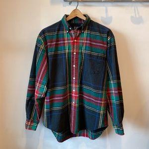 Vintage GAP Men's Plaid Flannel Button Down